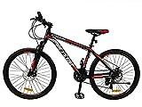 E-ROCK Mountainbike EX-6 Hardtail 29 Zoll Fahrrad MTB Trekkingrad Fitness Bike MTB Gabelfederung Scheibenbremsen