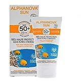 ALPHANOVA - CREMA SOLAR ORGÁNICA HIPROALÉRGENO FACIAL SPF 50+ 50ML.- ALPHANOVA SUN - SPF50+F