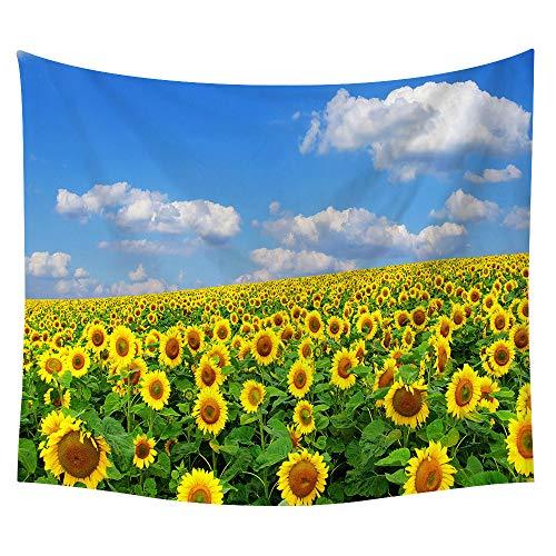 jtxqe Neue Tapisserie Wandbehänge Strandtuch Decke Sonnenblume Neue 6 150 * 130