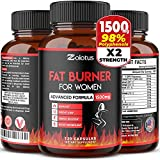 Fat Burner for Women, The Best Natural Weight Loss Pills for Women and Men, Metabolism Booster, Energy Pills, Highest...