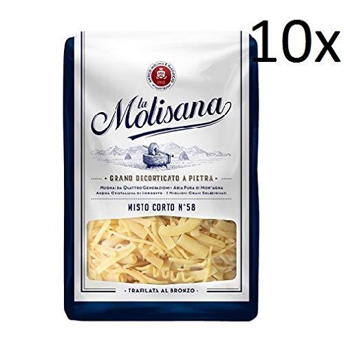 10x Pasta La molisana 100% Italienisch misto corto n° 58 Nudeln 500 g