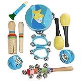 Giocattolo Musicale a Percussione Strumento,10pcs / set Giocattoli musicali Strumenti a pe...