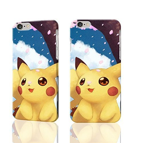 Cute And Lovely Pikachu Wallpaper 3d Rough Iphone 6 Amazon Co Uk Electronics