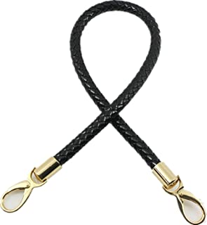 40cm/60cm Goldtone Buckles Synthetic Leather PU Shoulder Strap Replacement Handbag Purse Handle (Length:60cm/23.6