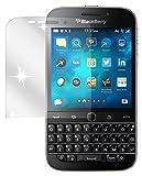 dipos I 2x Schutzfolie klar passend für Blackberry Classic Folie Bildschirmschutzfolie