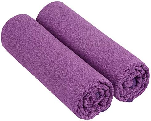 SUNLAND Microfiber Sports Workout Towels Fast Drying Fitness Sweat Towels for Men Women Lightweight product image