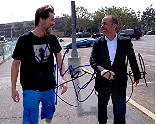 JIM CARREY and JERRY SEINFELD signed autographed photo