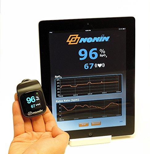 Nonin Elite 3240Connect Bluetooth Pulsoximeter für Finger