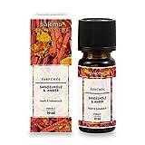 pajoma Parfümöl 'Sandelholz & Amber', 10 ml, feinste Parfümöle in Geschenkverpackung