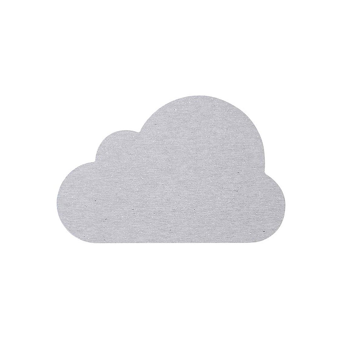 大胆なふける最も早いアンドエヌイー(&NE) 珪藻土コースター Cloud 雲 グレイ NIT-086-GY