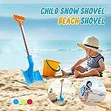 SSLLH 51 cm Strand Sand Schaufeln, Outdoor Kunststoff Schaufel,Edelstahl Kinder Sandspielzeug...