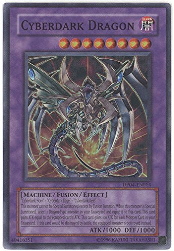 Yu-Gi-Oh! - Cyberdark Dragon (DP04-EN014) - Duelist Pack 4 Zane Truesdale - Unlimited Edition - Super Rare