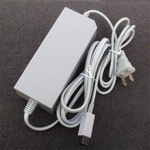 OSTENT Sostituzione di alimentatore dell'adattatore a muro di tipo CA per USA Compatibile con il videogioco per console Nintendo Wii