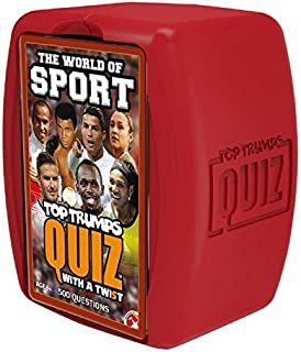 World of Sport Top Trumps Quiz Game