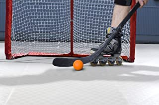 "IncStores Indoor/Outdoor Inline Hotshot Hockey Floor Tiles 18""x18"" Interlocking Thermoplastic Tiles"