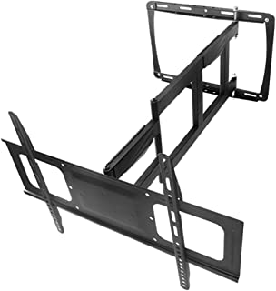 TV Stand Universal Movable Wall Mount Indoor Display Articulated Arm VESA Up to 600 * 400mm (Color : Black, Size : 65 * 40...