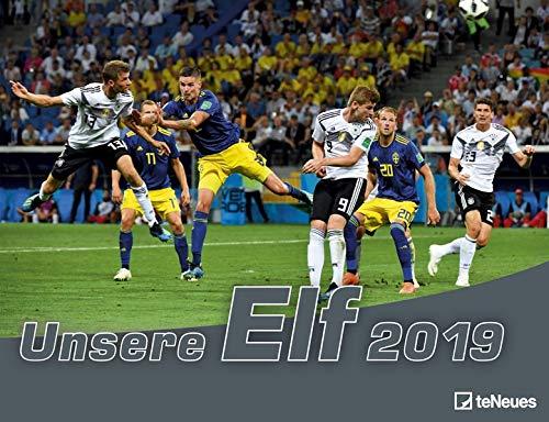 Unsere Elf 2020 - 42x29,7cm - Fußballkalender - Wandkalender