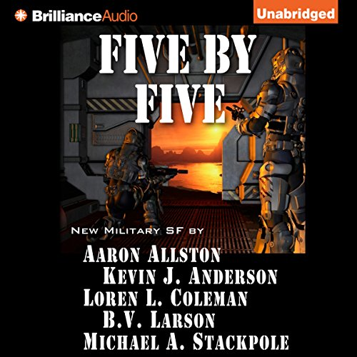 Five by Five audiobook cover art