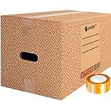 packer PRO Pack 20 Cajas Carton para Mudanzas y Almacenaje Ultra Resistentes con...