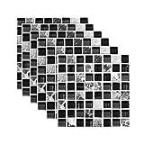 Vvff Pegatinas De Azulejos De Simulación Decoración Del Hogar Pegatinas De Pared De Baño Impermeables Decoración De La Habitación Decoración De La Pared Papel Tapiz Decoración Del Hogar