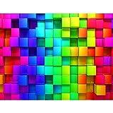 Fototapetenn Abstrakt 3D 352 x 250 cm - Vlies Wand Tapete Wohnzimmer Schlafzimmer Büro Flur Dekoration Wandbilder XXL Moderne Wanddeko - 100% MADE IN GERMANY - 9078011a