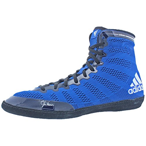 adidas Adizero Varner Wrestling Shoes - Royal/White/Black - 7