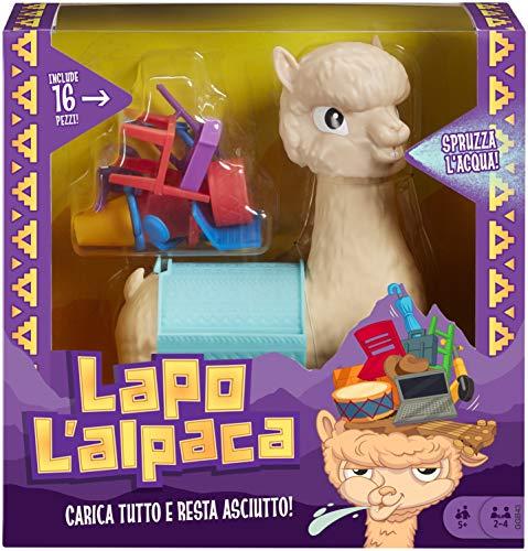 Mattel Games - Lapo L'Alpaca Gioco di Società, per Bambini 5+ Anni, GGB43