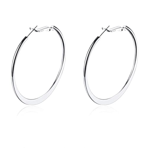 c2a84db027250 White Gold Earrings: Amazon.co.uk