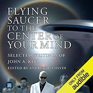 Flying Saucer to the Center of Your Mind audiobook cover art