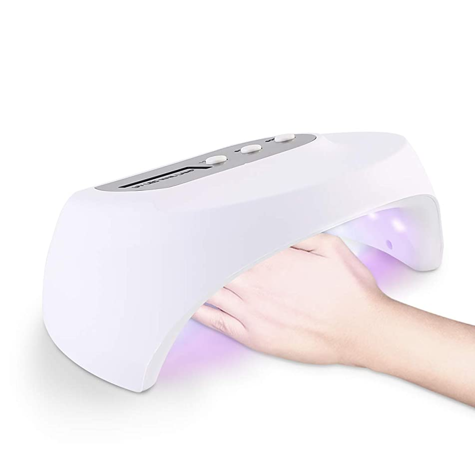 36W Nail Dryer Curing UV Lamp 3 Timing with 405nm 365nm LED Cure Nail Gel Builders Nail Art Tool