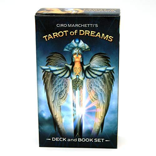 Dalin Tarot of Dreams Full Englisch 83 Karten Deck, Orakel-Spielkarten-Wahrsagungsspiel