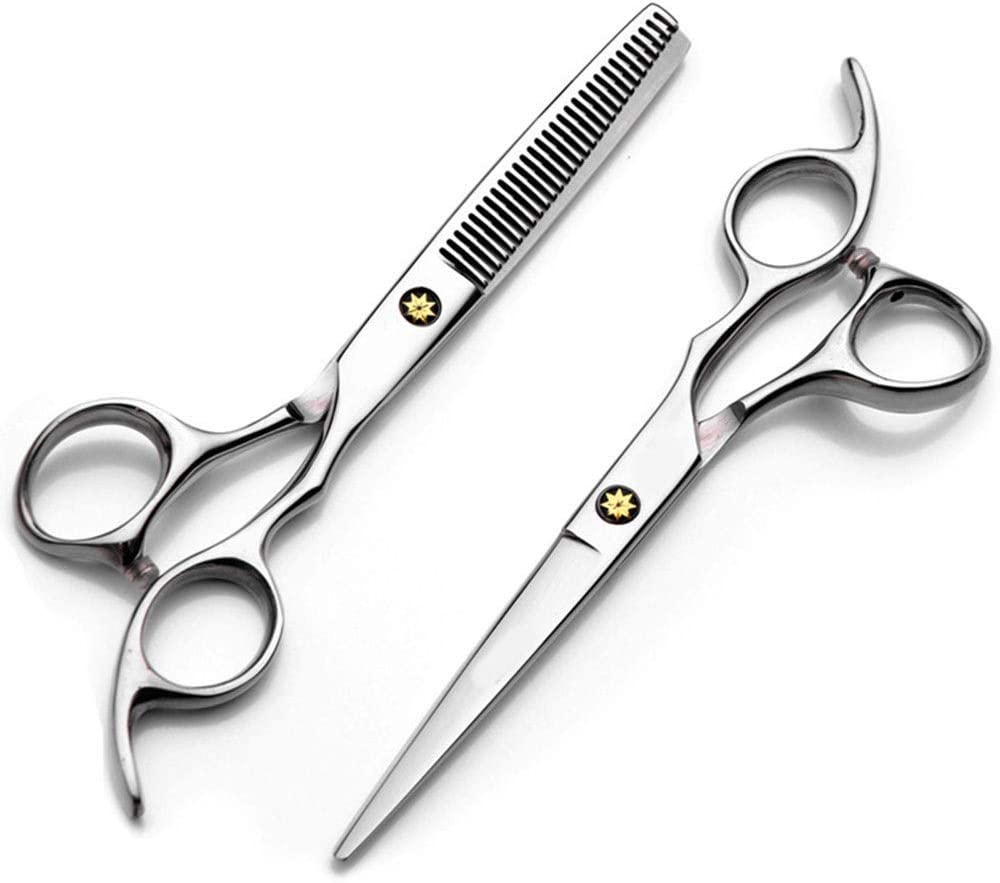 ShiSyan 6 Inch Hairdresser Professional Scissor Cheap super special price + Haircut T Flat excellence