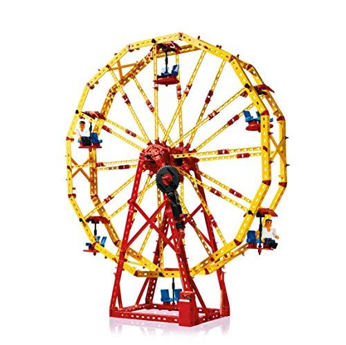 fischertechnik Bauset Super Fun Park - das Konstruktionsspielzeug bringt den Freizeitpark ins Kinderzimmer - bauen und kostruieren ab 7 Jahre - 3 verschiedene Modelle - inklusive XS Motor