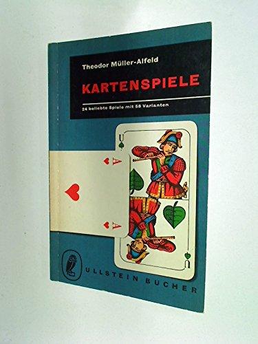 Kartenspiele : 24 beliebte Spiele mit 58 Varianten , Ullstein Bücher Nr. 174, 1. Auflage 1957