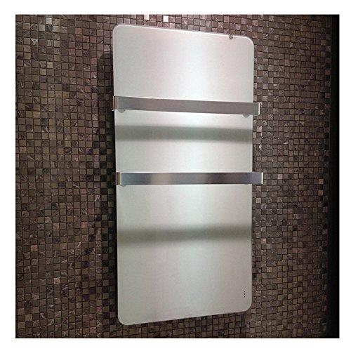 Infrarotheizung 600 Watt Glas Infrarot Heizung Design Elektrischer Heizkörper doppelte Bild 2*