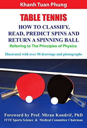 Table Tennis: How to Classify, Read, Predict Spins & Return a Spinning Ball: Referring to the Principles of Physics (English Edition)
