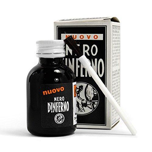 Fabbrica Chimica Unione Tintura liquida per pelle - nero d'inferno - nero 50ml
