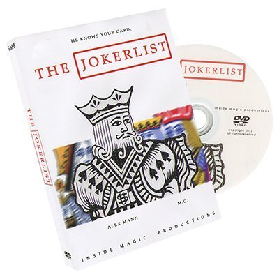 The Jokerlist by Alex Mann and M.G. - DVD