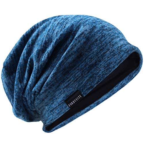 VECRY Uomo Slouchy Beanie Knit Zucchetto Lungo...