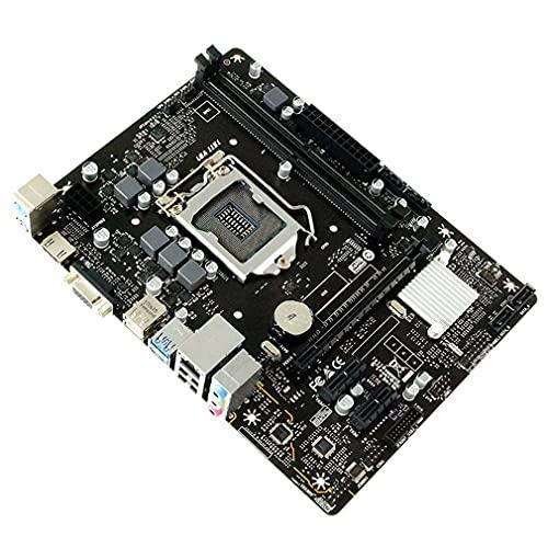 Uniquelove Las Placas Base H310Mhp Ddr4 2666Mhz 1151 Pines S + V + GL Son Compatibles con Placas Base De Computadora De Escritorio con CPU De Octava Y Novena Generación - Negro