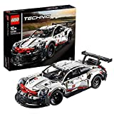 LEGO Technic Porsche 911 RSR Building Set, Realistic Car Model, Advanced Construction Kit