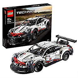 Build and explore the LEGO Technic Porsche 911 RSR - an icon of innovative engineering and design Exclusive LEGO Technic replica of the Porsche 911 RSR sports car for boys and girls aged 10+ and for fans of all ages Realistic details include aerodyna...