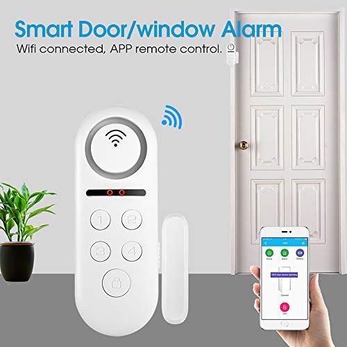 ZUEN Türklingel Alarmanlage Timing Scharfschaltung Türklingelsensor APP Smart Remote Control Für Apartment Family