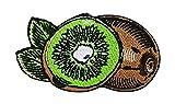Kiwi - Parche termoadhesivo con diseño de frutas y flores de frutas, para comida, para planchar, color verde