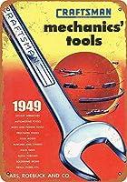 1949職人の機械工のツールコレクターウォールアート