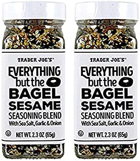 Trader Joe's Everything but The Bagel Sesame Seasoning Blend (Pack of 2)