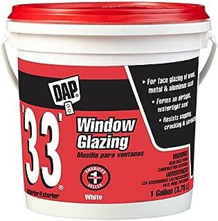 DAP INC 12019 33 Glazing Compound - Gallon White (Pack of 2)