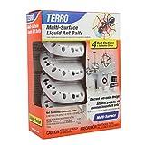 TERRO T334 Multi-Surface Liquid Ant Baits – 4 Discreet Bait Stations