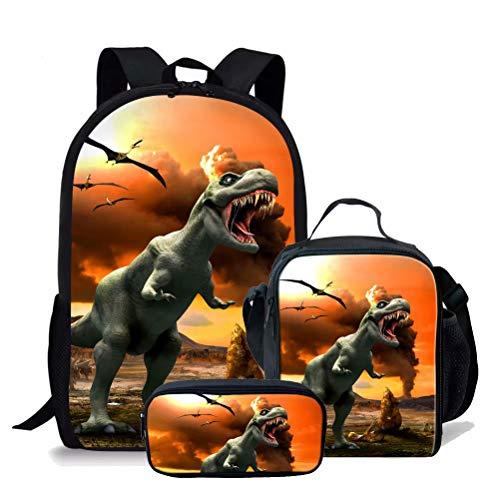 chaqlin Juego de 3 bolsas escolares para niños,...