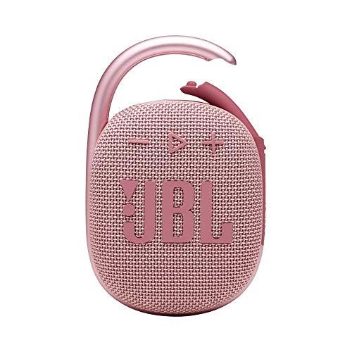 JBL CLIP4 Bluetoothスピーカー USB C充電/IP67防塵防水/パッシブラジエーター搭載/ポータブル/2021年モデル ピンク JBLCLIP4PINK 【国内正規品/メーカー1年保証付き】